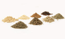 Set of spices. Set of fragrant spices for cooking Stock Photo