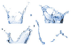 Set of splash Stock Photos