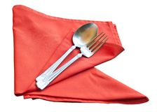 Set of spoon. Royalty Free Stock Photo