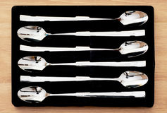 Set of spoons Stock Images