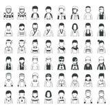 Set sportów charaktery Zdjęcia Royalty Free