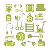 Set sportów elementy Zdjęcie Royalty Free