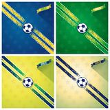 Set sport background Stock Images