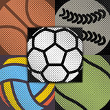 Set sport background, vector illustration. vector illustration