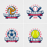 Set of Sport Badge Stock Photo