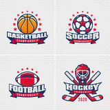Set of Sport Badge Stock Photos