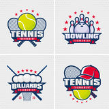Set of sport emblem. Royalty Free Stock Photo