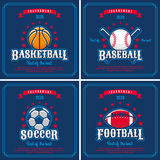 Set of sport emblem Royalty Free Stock Photo