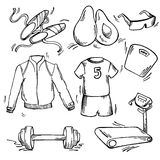 Set of sport icon Royalty Free Stock Images