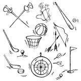 Set of sport icon Royalty Free Stock Photography