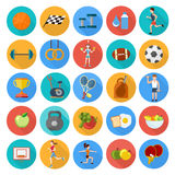 Set of sport icons Royalty Free Stock Photos