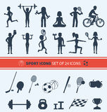 Set of Sport Icons Royalty Free Stock Images