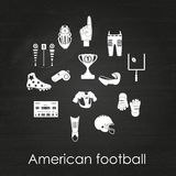 Set of sport icons, signs and symbols. Royalty Free Stock Images