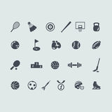 Set of sport icons Royalty Free Stock Photo
