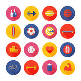Set of sport icons. Stock Image