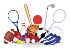 Set Of Sport Object  Stock Photo