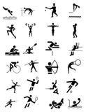 Set of sport symbols Royalty Free Stock Images