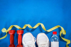 Set for sports activities Stock Images