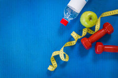 Set for sports activities Royalty Free Stock Photos
