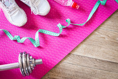 Set for sports activities Royalty Free Stock Photography