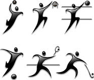 Set sports icon Royalty Free Stock Images