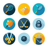 Set of sports icons. Royalty Free Stock Image