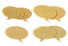 Set Spracheluftblasen Lizenzfreies Stockbild