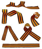 Set of St. George Ribbons Royalty Free Stock Photography