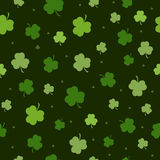 Set St Patrick dnia Bezszwowi wzory Perfect dla tapet, deseniowe pełnie, sieci tła, kartka z pozdrowieniami ilustracja wektor