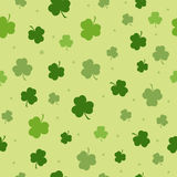 Set of St. Patrick's Day Seamless Patterns Perfect for wallpapers, pattern fills, web backgrounds, greeting cards Stock Image
