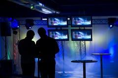 set stage up Στοκ Φωτογραφίες