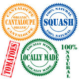 Set of stamps Royalty Free Stock Photo