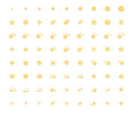 Set of star icon. Vector isolated on white background. Emoji vector. Bright  smile icon set. Emoticon icon web Stock Photo