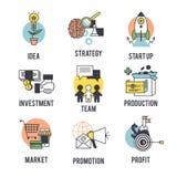 Set the startup logo Stock Photos