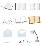 A set of stationery Stock Photo