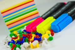 Set of stationery. Stock Image