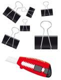 A set of stationery Stock Photography