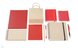 A set of stationery for the application of your logo. Stock Photography
