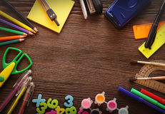 Set of stationery Stock Photography
