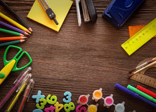 Set of stationery Stock Images