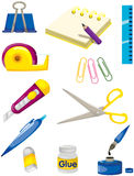 Set of stationery Royalty Free Stock Images