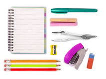 A set of stationery items Stock Photography