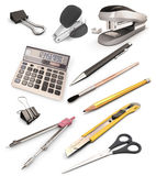 Set of stationery products Royalty Free Stock Image