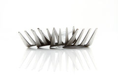 A set of steel forks Royalty Free Stock Photography