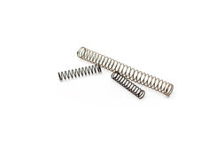 Set of steel spring Stock Images