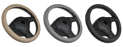 Set of steering wheels Royalty Free Stock Photo