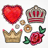 Set of stickers. Royalty Free Stock Photography