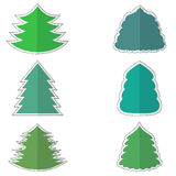 Set with Stickers Stock Images