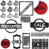 Set of stickers, labels, stamps and tags Royalty Free Stock Photography