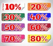 Set stickers Stock Image